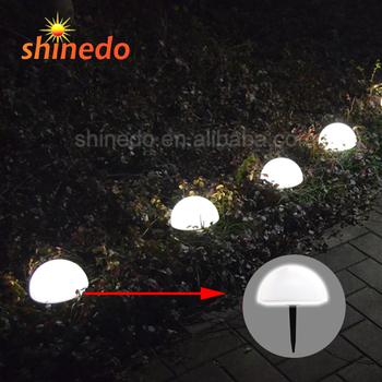Solar Underground Landscape Light For Outdoor Ground Path Garden Lighting Powdered Floor Buried