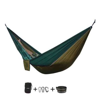 Nylon Waterproof  Hammock With Straps Manufacture