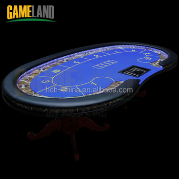 Stupendous Deluxe Wooden Leg Poker Table With Led Light Poker Table Led Light Buy Poker Table Led Light Poker Table Led Light Poker Table Product On Beutiful Home Inspiration Xortanetmahrainfo