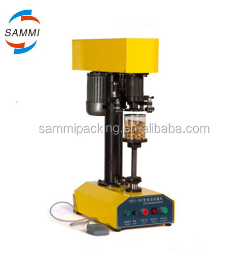 100% warranty can sealing machine/tin can plastic jar/aluminum can seaming machine