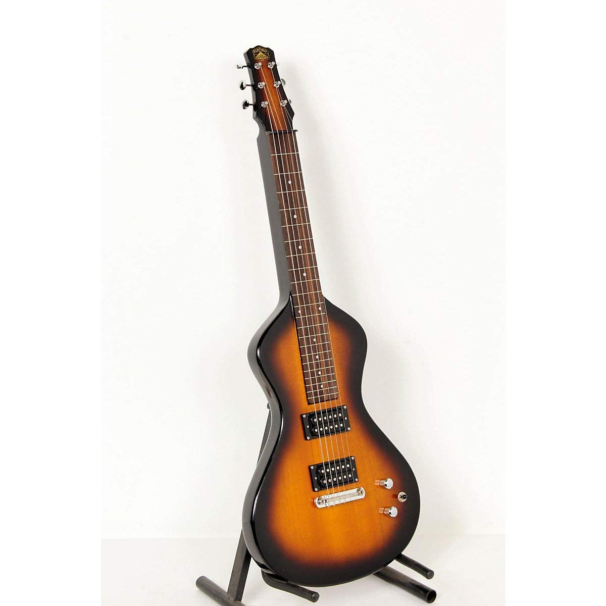 Asher Guitars & Lap Steels Electro Hawaiian Junior Lap Steel Guitar Tobacco Burst 888365513898