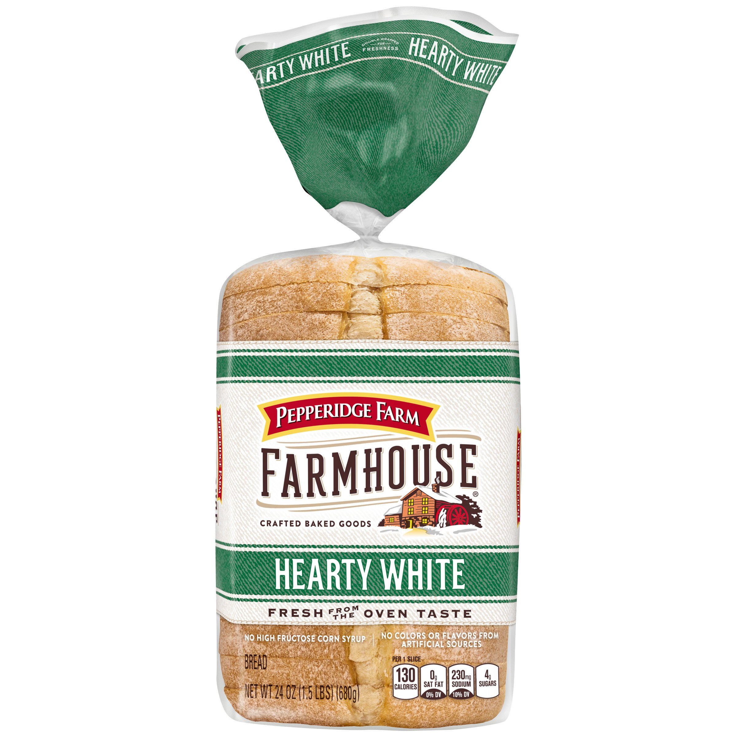 Pepperidge Farm Farmhouse Hearty White Sandwich Bread, 24 oz