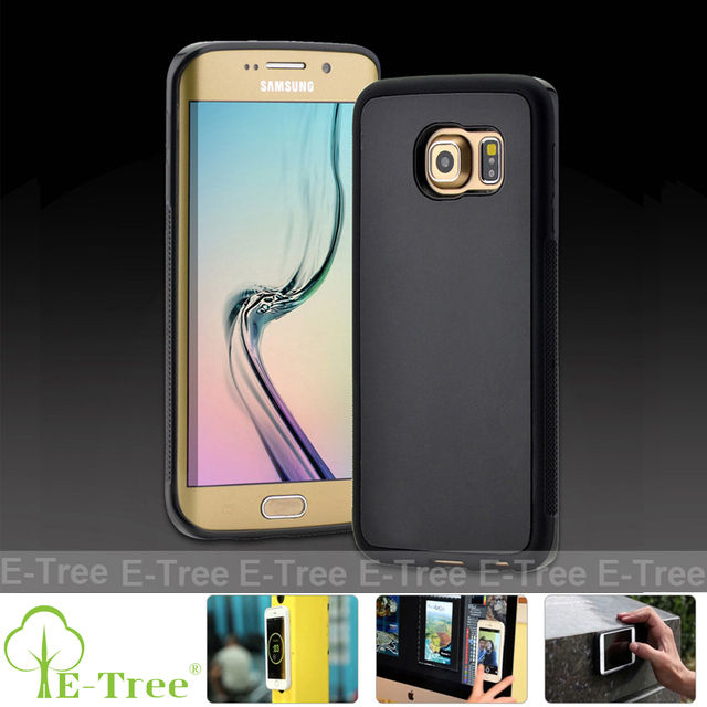 Phone Accessories Mobile Nano Suction Cover Magic Anti Gravity Phone Case For Samsung Galaxy S6 S7 Edge / Galaxy Note 4 Note 5