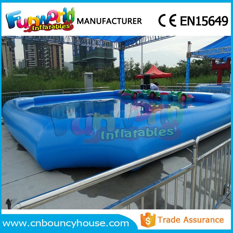rectangle water walker arena inflatable pool rental zorb pool