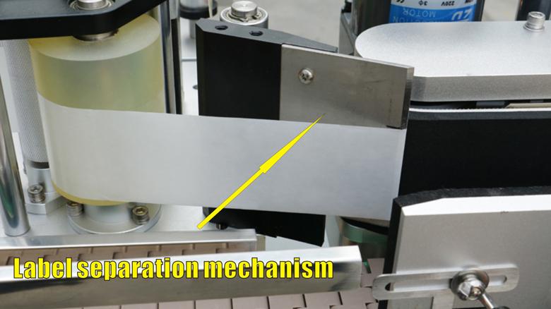 Multi-función Automático Doble lados y redondo botellas cuadradas botellas de máquina de etiquetado