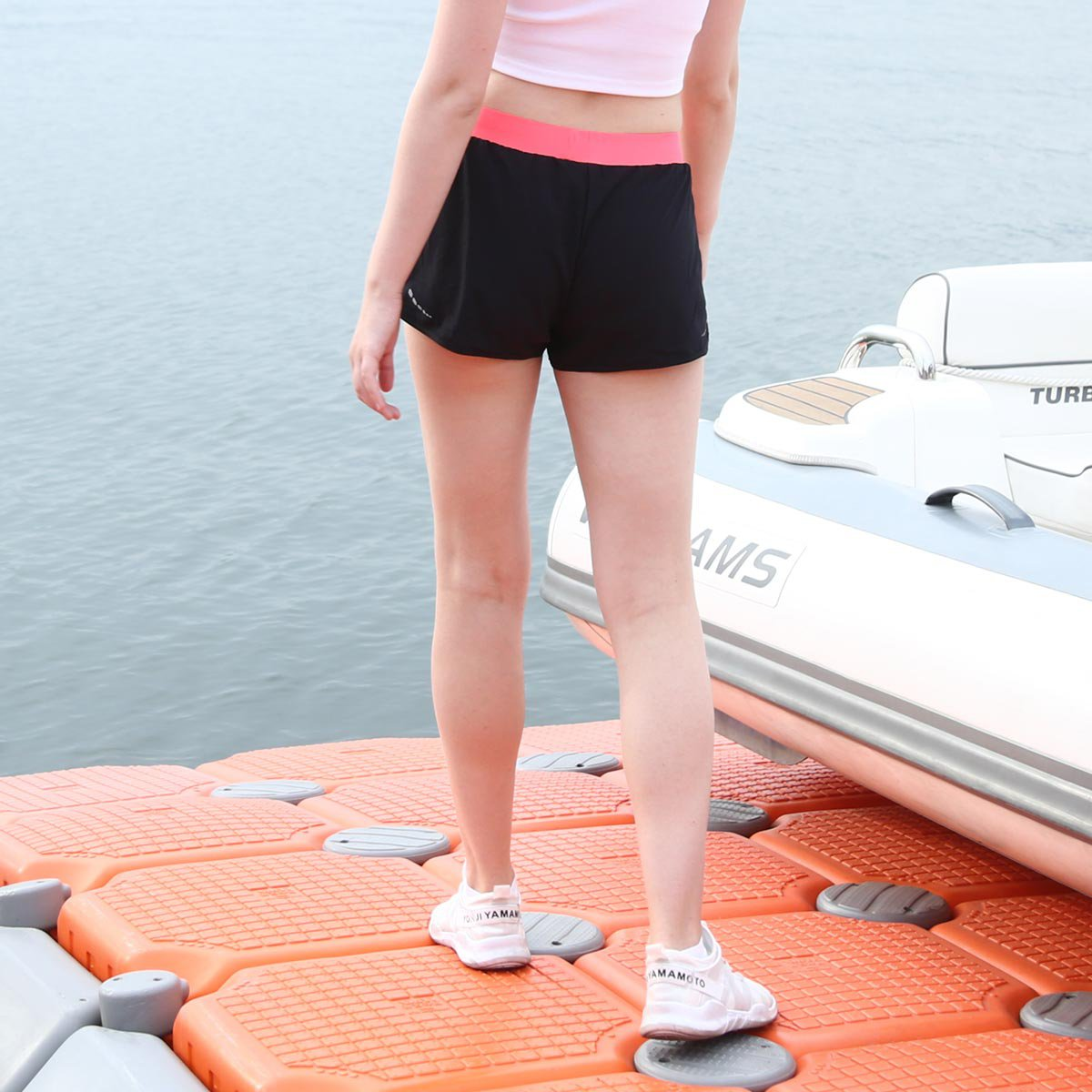 Spring New Women's Sports Shorts Casual  Running Pants