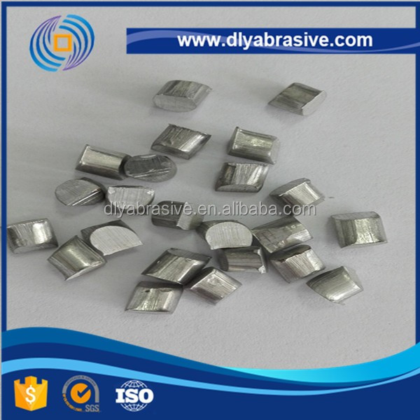 Abrasive aluminum shot cut wire shot/aluminum parts shot blasting abrasive