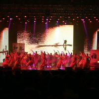 Well OLED Screen Indoor P4 stage led screen for concert