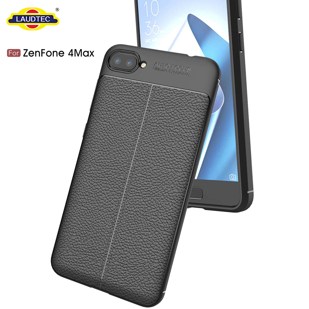Leather Pattern Tpu Back Case Cover For Asus Zenfone 4 Max Zc520kl 6 Buy Casefor Casecase