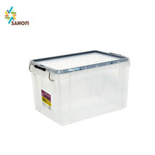 large storage box plastic container with lid clear plastic food containers with lid