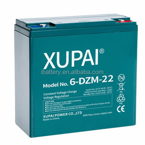 12 V 22 Ah Deep Cycle battery for Electro Skooter 6-dzm-20 6-DZM-22