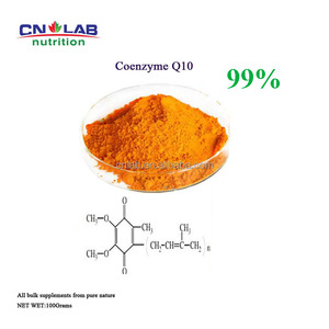 CN LAB Supply high quality Ubiquinone COQ10 99% powder/fermentation coenzyme q10/coq10 99% 20% 10%