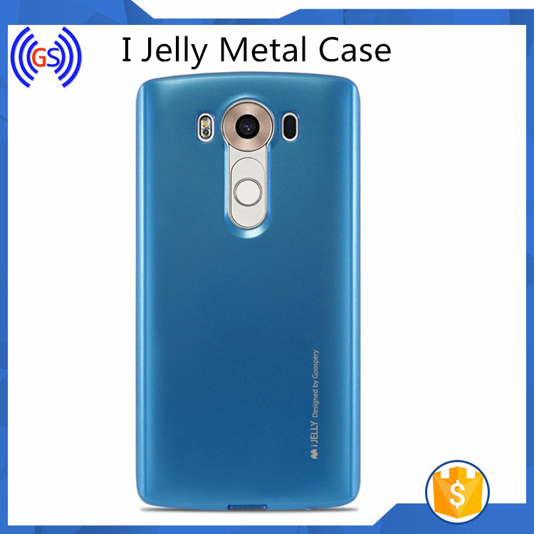 Goospery 2016 I Jelly Metal Case For Lg K6 Mobile Phone