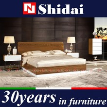 the italian modern bedroom set, bed modern, furniture beds B-829