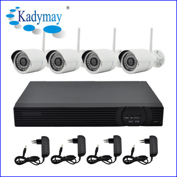 best sell 4chs wifi outdoor 30m ir ip camera nvr kits 720p support network ptz. Black Bedroom Furniture Sets. Home Design Ideas