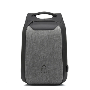CJ012 Four Colors Outdoor USB Port Red Blue Gray Black Backpack