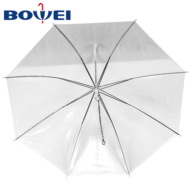 Custom cheap umbrella printing cute pet dog umbrella for rain