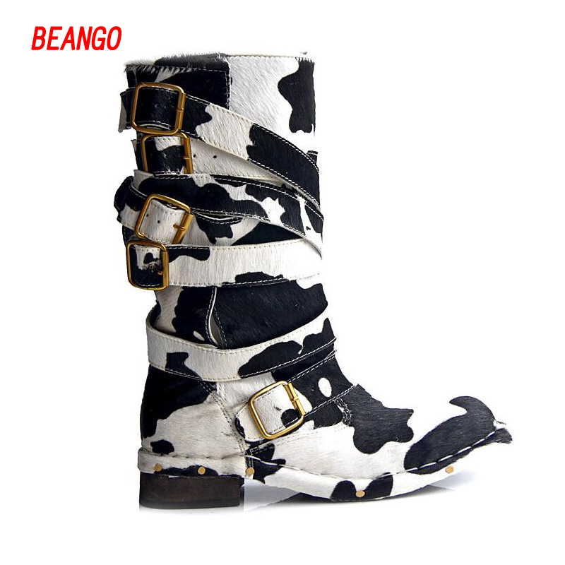 Popular Strappy Flat Boots-Buy Cheap Strappy Flat Boots