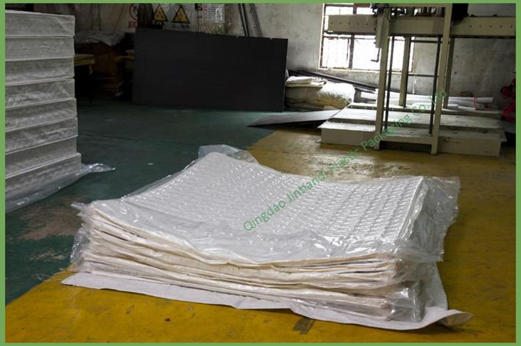 Custom Extra Big Pe Vacuum Seal Plastic Packaging Bag For