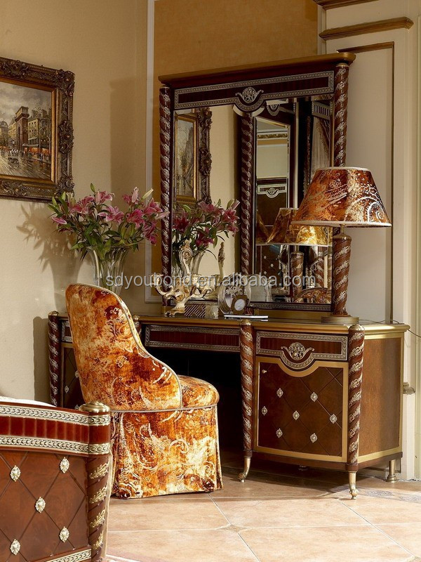 italian luxury home bedroom furniture european classic set - Chambre A Coucher Royal Italy