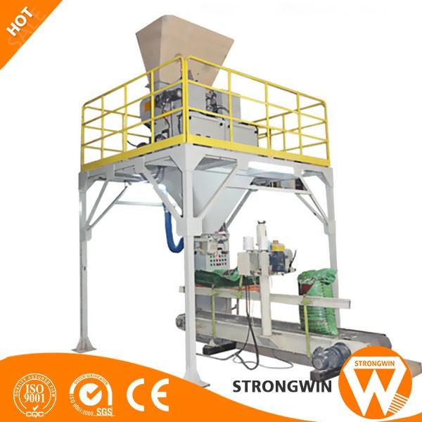 High Mechanization Degree Automatic Wood Pellet Bagging Machine ...