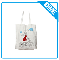 2017 Newest Fashion Promotional Shopping Blank Cotton Custom Printed Canvas Tote Bags With Handle