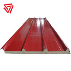 Colored Zinc Coated Composite Insulated PU Sandwich Roof Panel