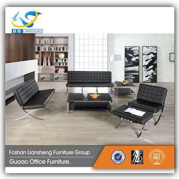 Modern Italian Leather Sofa Model New Sets Barcelona Set