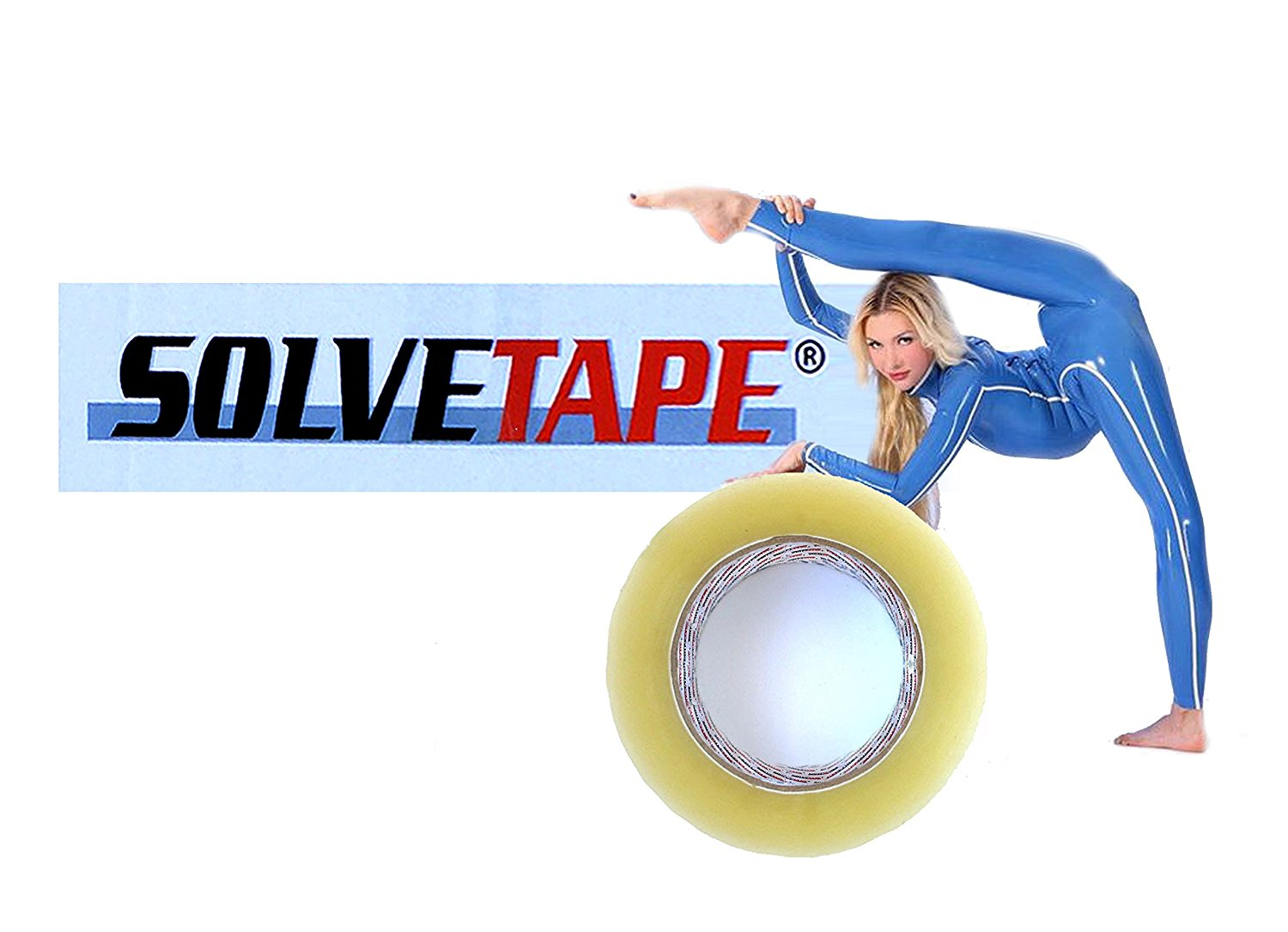 CLEAR PACKING TAPE - 54.6 Yards Per Roll- 1.88 Mill Thick-Long Lasting, Stronger & Thicker Adhesive Industrial Depot Tapes Perfect for Packaging Shipping, Office & Storage (1 Roll / 1.88 Mil Thick)
