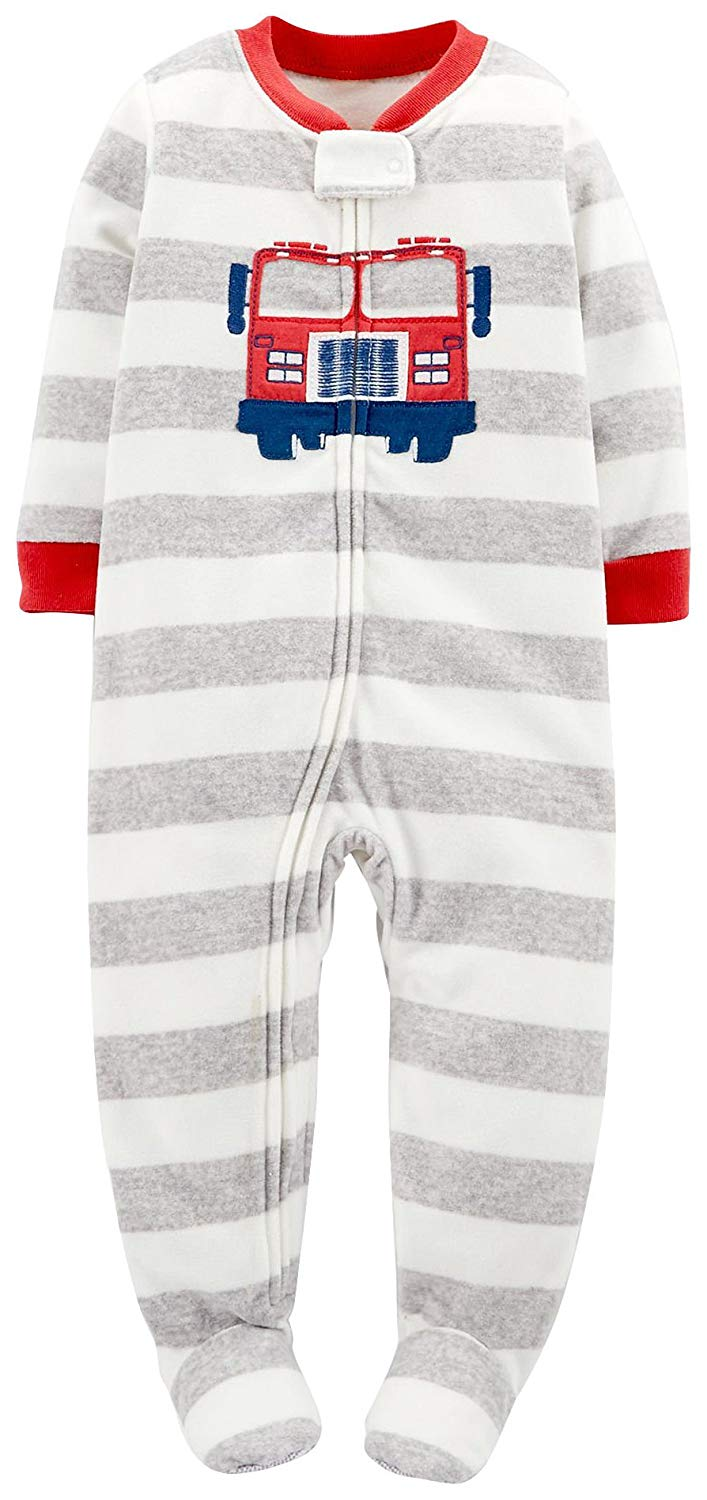 d827662bccdf Buy Carter  39 s Baby- Girls 1-pc Microfleece Footed Sleeper Pajamas ...