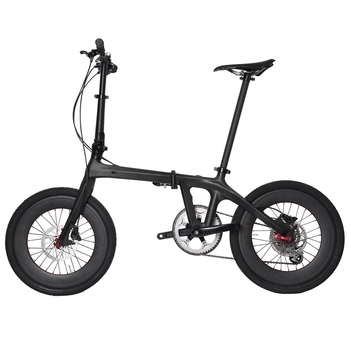 20 Pulgadas Mini Bicicleta Plegable Freno De Disco Ud Matt Bsa Fibra ...