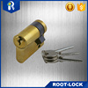two-way boosting cylinder high pressure cylinders new products zinc-alloy brass rim lock cylinder