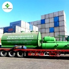 New technology vacuum distillation used motor oil recycling plant
