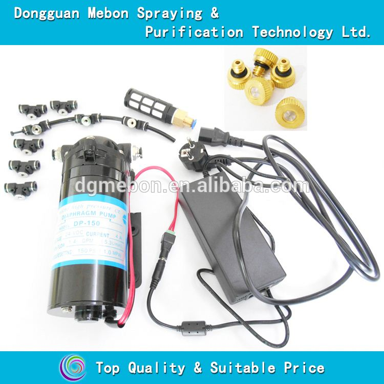 150 psi fog cooling system,40 nozzles water mist machine