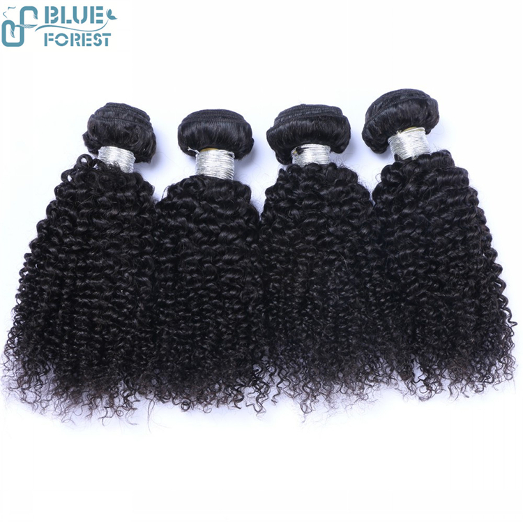 Hot Sale Human Remy 8A Indian Jerry Curl Hair Weave Extensions