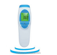 talking portable infrared thermometer digital for human body temperature