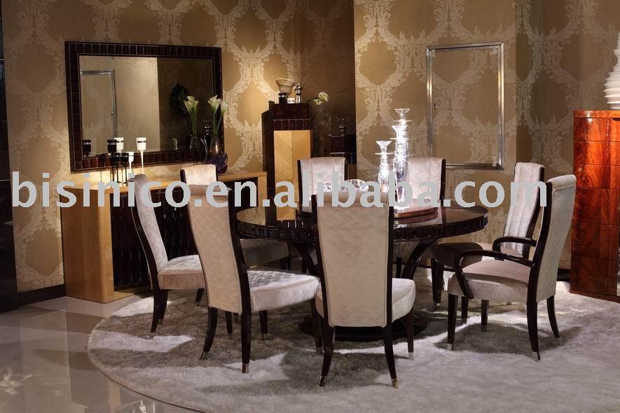 Estilo moderno juego de comedor y muebles de comedor sets for Muebles modernos estilo europeo