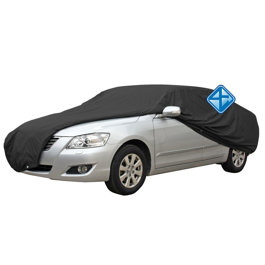 100% Water-Proof pvc auto cover met rits