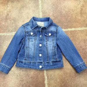 Spring kids denim jacket children clothes girl denim coat fashon boutiques kids clothes wholesale bulk baby outfit