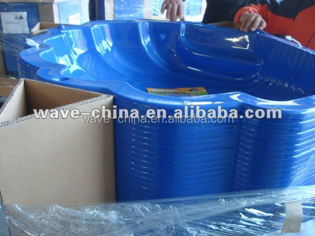 Hot vente de piscine pour enfants piscine en plastique for Piscine plastique rigide