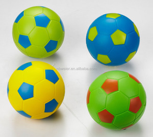 8 inches PU foam anti stress soccer ball