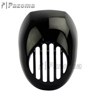 Newest Pazoma High Quality FRP LoPro Prison Motorcycle Headlight Fairing For 1987-11 HARLEY Sportster XL DYNA FXR RACE