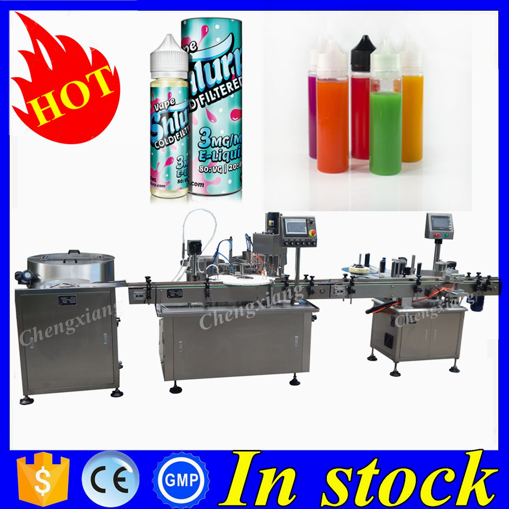 Alibaba China ejuice flavor filler production <strong>line</strong>,chubby gorilla filling machine