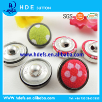 cloth covered buttons with fabric