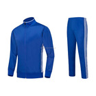 Fashion blue Top quality football blue jacket suppliers long sleeve adults ,kids,sportswear