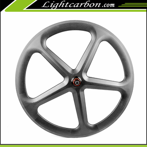 2017 LightCarbon famous 50mm road 5-Spoke carbon wheels 700c carbon clincher wheels-5S-50