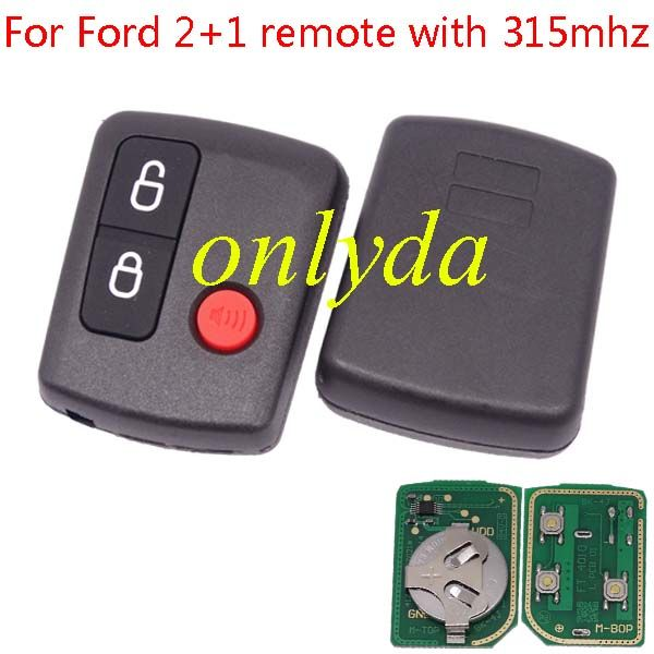 Ford remote key 2+1 remote with 315mhz car remote start ford car remote