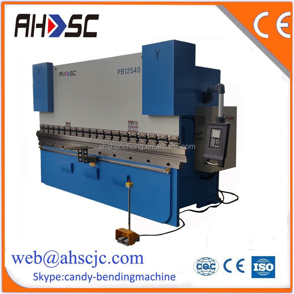 China Manufacturer WC67K Series cnc press brake machine with 3d scanner