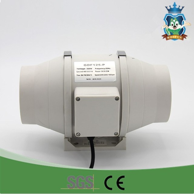 Air conditioner indoor motor exhaust mini centrifugal exhaust fan