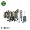 Brand-new 500L Steam or Electric or Direct Fired Brewhouse for Beer Brewing